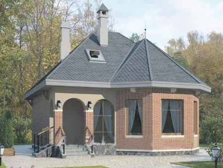 Проекты домов в виде замков фото